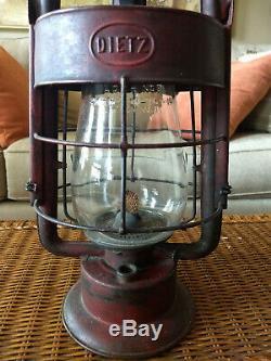 Vintage Antique Dietz Fireman's Lantern