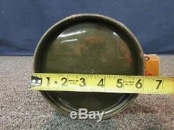 Vintage Armstrong US Army Military Green Lantern Coleman Pyrex Globe USA 1977