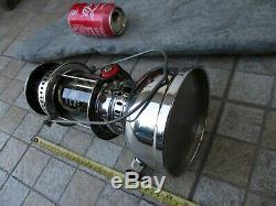 Vintage Brass Chrome Nice Lamp Lantern Petromax Hipolito 250 Pressure Kerosene
