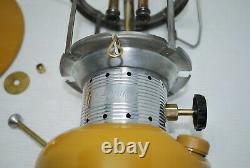 Vintage COLEMAN Model 228F GOLD BOND Double Mantle Lantern 1-72 RARE Lantern