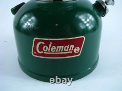 Vintage Coleman 200A700 Lantern Kerosene Lamp Forest Dark Green 200a 700 3/82