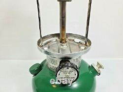 Vintage Coleman 200A 200A700 Green Metal Lantern Dtd 2/83 NO CASE