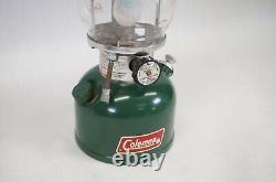 Vintage Coleman 200A 200A700 Metal Lantern (Green)