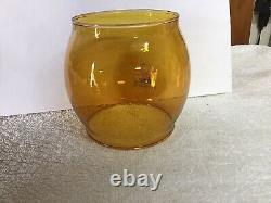 Vintage Coleman 200A Amber Globe