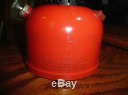 Vintage Coleman 200A Black Band Lantern Made in USA 8-52 Green Lettered Pyrex