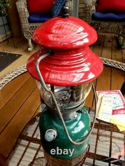 Vintage Coleman 200A Christmas Lantern Made in USA 11/1951
