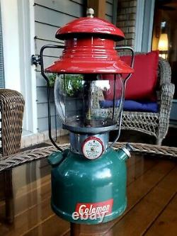 Vintage Coleman 200A Christmas Lantern Made in USA 9/1951
