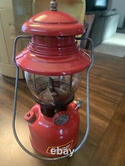 Vintage Coleman 200A Lantern 1952 Black Band TESTED