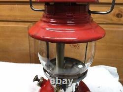Vintage Coleman 200A Red Lantern 10/1958