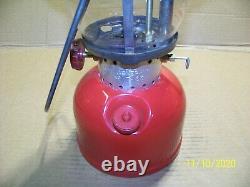 Vintage Coleman 200 Lantern Dated 4/66 Near Mint Condition