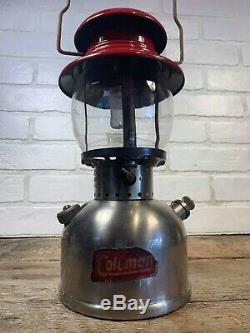 Vintage Coleman 200 T66 1958 Very Clean
