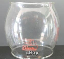Vintage Coleman 200a195 Lantern In Original Box With Instruction Manual