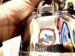 Vintage Coleman 202 Professional Gasoline Lantern 10/1963 Extremely Rare