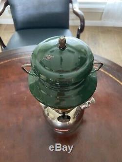 Vintage Coleman 202 Professional Lantern 55-1 Amber Globe