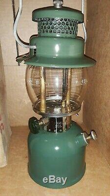Vintage Coleman 242C Green Lantern Original Box The SunShine Of The Night