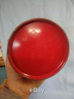 Vintage Coleman Camping Lantern 200A Red In Box 5- 60 Very good Shape