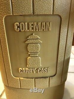 Vintage Coleman Christmas Lantern 200a 11/52 Refurbished With Gold 200a Case