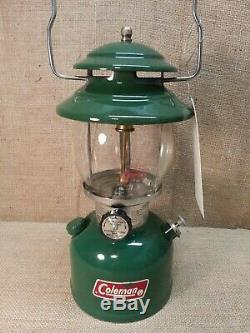 Vintage Coleman Green 200-A700 Single Mantle Gasoline Lantern Nov 1982 Birthday