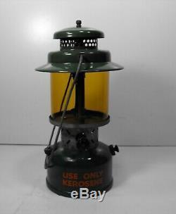 Vintage Coleman Lamp And Stove Co. Model 237B Kerosene Lantern Military 1 Mantl