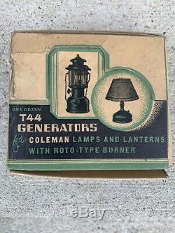 Vintage Coleman Lanter/Lamp Generators T44 Coleman Lantern Parts