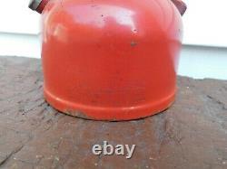 Vintage Coleman Lantern 1953 Red Model Black Mantle SUPER HARD TO FIND