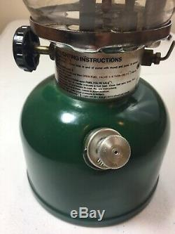 Vintage Coleman Lantern Green 200A700 Date 12/80 With Original Box And Manual