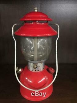 Vintage Coleman Lantern Model 200A 195 Single Mantle WITH BOX