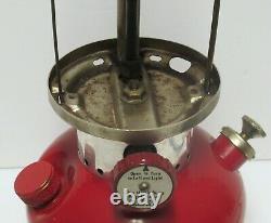 Vintage Coleman Lantern Model 200A Single Mantle 8/62 Excellent