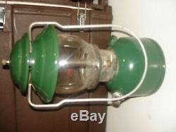 Vintage Coleman Lantern Model 200A green 200 a dated 3/81