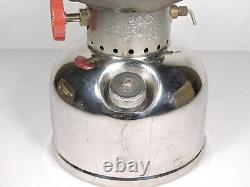 Vintage Coleman Lantern Model 200 With Sunrise Globe Made In Canada 2 1959
