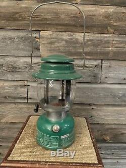 Vintage Coleman Lantern Model 639 CP Rail
