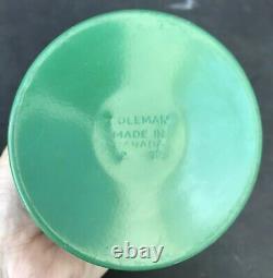 Vintage Coleman Lantern Peak 1 Easi Lite Green Model 222 2-79 February 1979