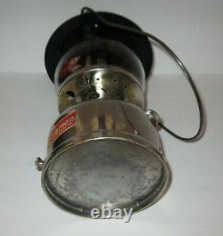 Vintage Coleman Lantern with Chrome Base no 236 1956
