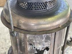 Vintage Coleman Quick-Lite Lantern (With Mica Globe) (1920's) Stamped 5 5