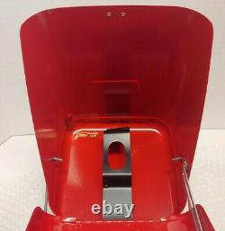 Vintage Coleman Red Metal Lantern Case Fits 200 282 285 288 289 Case Only