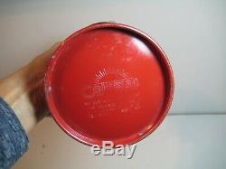Vintage Coleman Red Model 200A Lantern