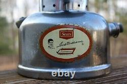 Vintage Coleman Sears TED WILLIAMS Lantern 476.7020 11-65