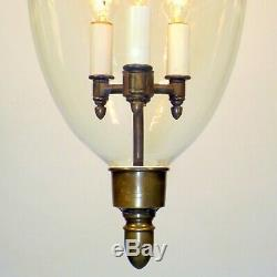 Vintage Colonial Williamsburg Hanging Lantern Pendant Chandelier by Lester Berry