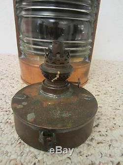 Vintage, Maritime, Ship's Mast Head Lantern