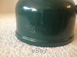 Vintage NEW Coleman 220E 2 Mantle Gasoline Lantern 3/59 Mantles Papers Orig Box