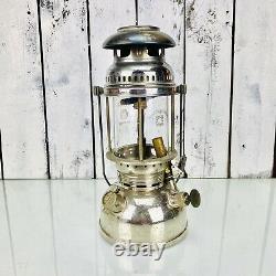 Vintage Petromax Lantern Rapid Super Brass Tank 827/250cp Made In Germany