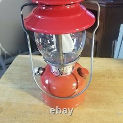 Vintage Red Coleman Lantern 200A Dated11/71