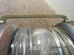 Vintage Salvaged Brass Large Anchor Lantern