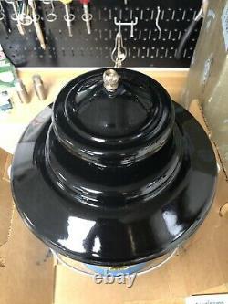 Vintage Sears Coleman, Blue Model 476-74070, Double Mantle Gas Lantern 6/67