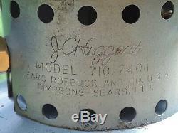 Vintage Sears & Roebuck J. C. Higgins 710.74011 Lantern coleman