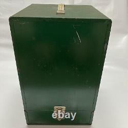 Vintage Smith Victor Coleman Lantern Metal Carrying Case