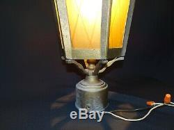 Vintage Witches Hat Light Entry Post Sconce Gothic Tudor Outdoor Kichler Lantern