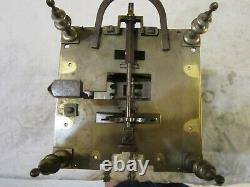 Vintage weight driven lantern rclock
