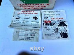Vtg Superb Lantern Coleman Model 321b Easi Lite Dated 2-78 With Box And Case